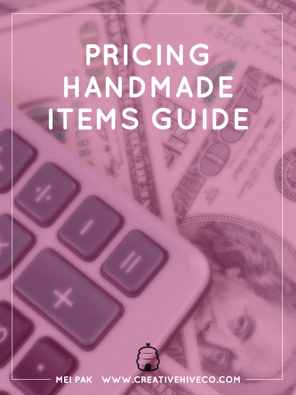 how to price handmade items pricing handmade items guide 6555