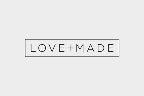 Love+Made logo. So simple!