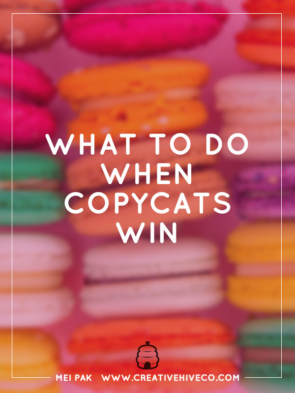 What to do when copycats win