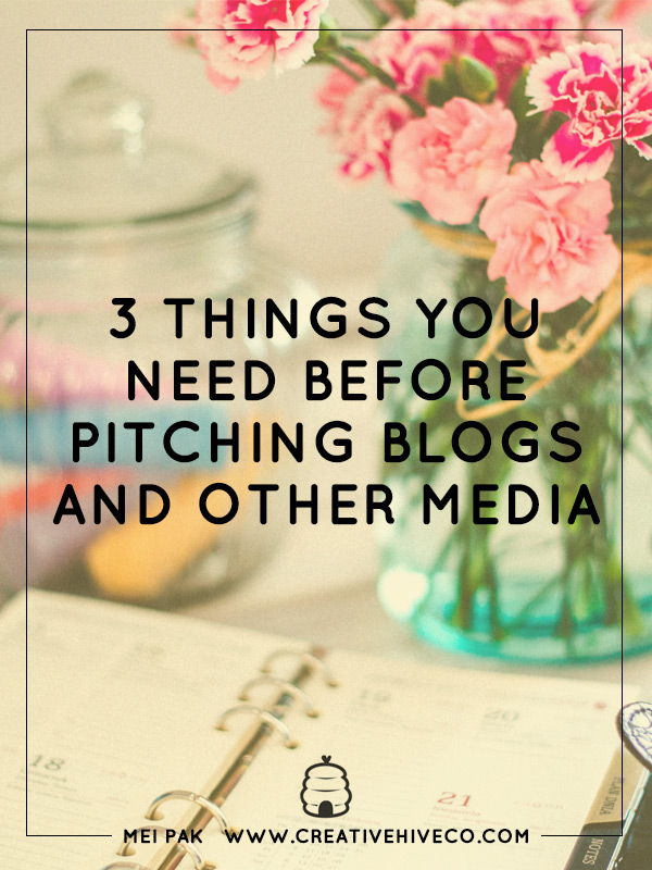 3 Things You Need Before Pitching The Press