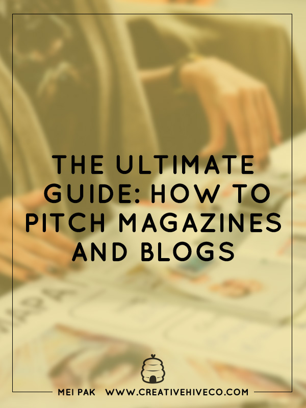 The ultimate guide: how to pitch magazines and blogs