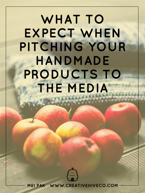 What to expect when pitching your handmade products to the media