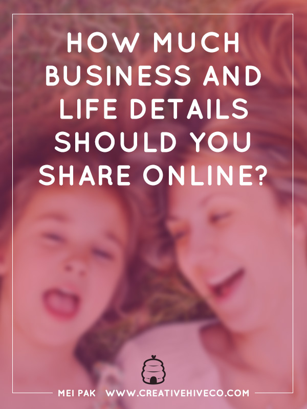 How much business and life details do you share online?