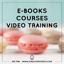 Ebooks, courses, video training: learn the exact how-to's in marketing and growing your biz