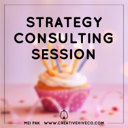 Creative Hive Strategy Consulting Session