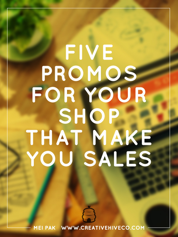 Five promotions to use for your shop that make you sales