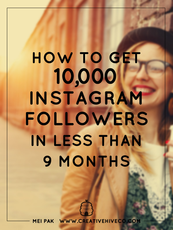 How to get 10k Instagram followers in less than 9 months
