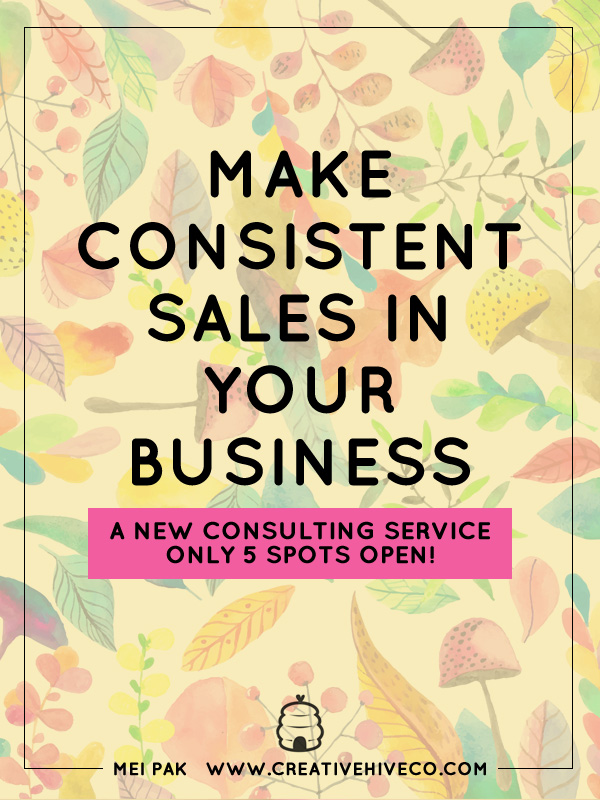 Make consistent sales in your business