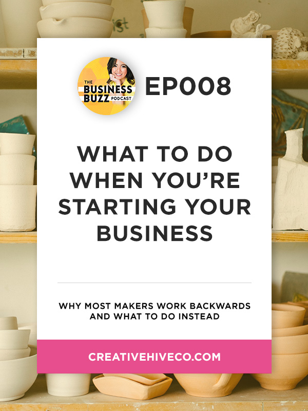 BBP008 What to do when you're starting your business